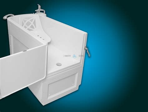 slide in bathtub sensation assisted slide in bath with movable seat