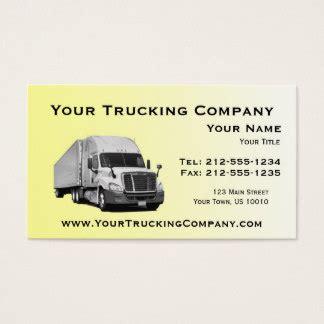 trucking business card template trucking business cards and business card templates