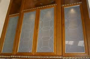 decorative glass kitchen cabinets contemporary glass designs by etched carved sans soucie