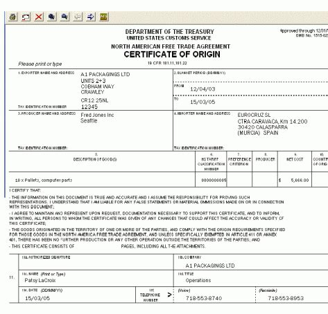 us certificate of origin template 41 free certificate of origin templates in word excel pdf