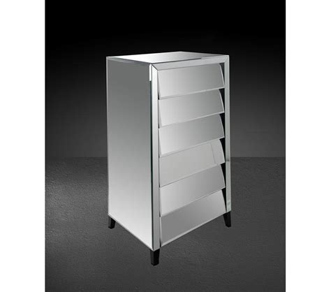 roanoke modern mirrored bedroom furniture dresser dreamfurniture com roanoke modern mirrored bedroom chest