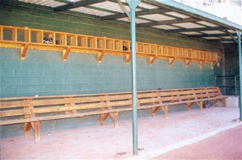 dugout bench plans shadowproof