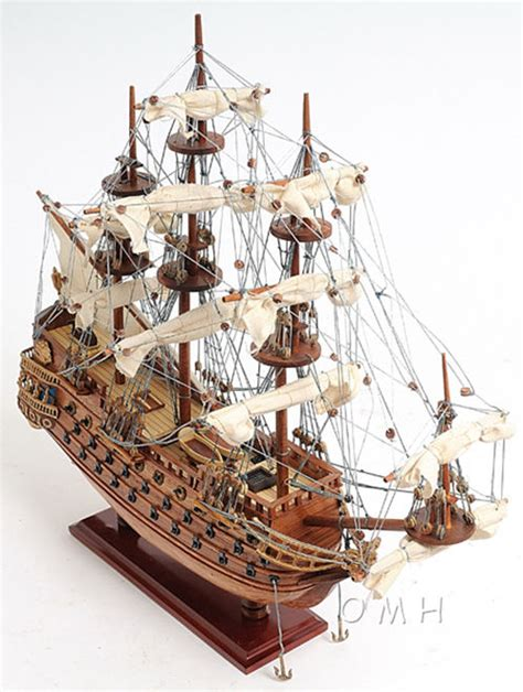 sailing in spanish language spanish san felipe tall ship wooden model 19 quot sailboat