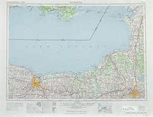 New York Topographic Map by Rochester Topographic Maps Ny Usgs Topo Quad 43076a1 At