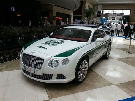 gear heads bringing you the latest in auto news at high bentley continental gt dubai police car gearheads org