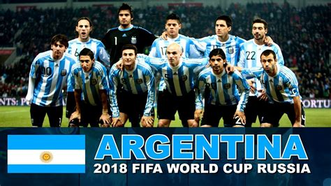 argentina football team 2018 fifa world cup russia
