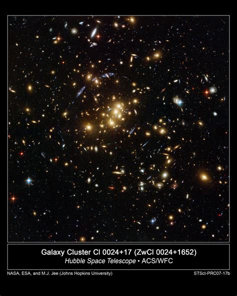 distribution of matter in the universe nasa hubble finds ghostly ring of matter