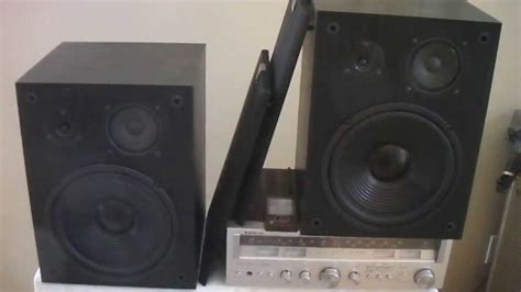 altec lansing 103 bookshelf speakers