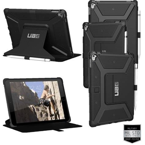 Casing Rugged Armor Air 9 7 Inch Kick Stand Soft Cover armor gear uag pro 9 7 quot spec tough rugged cover ebay