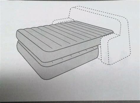 hide a bed kit 60x80 quot pvc rv cer motorhome bladder air mattress ebay