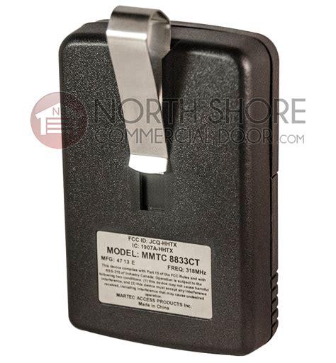 Garage Door Opener Remote Transmitter Pulsar 8833 Cocs Gate Garage Door Opener Remote