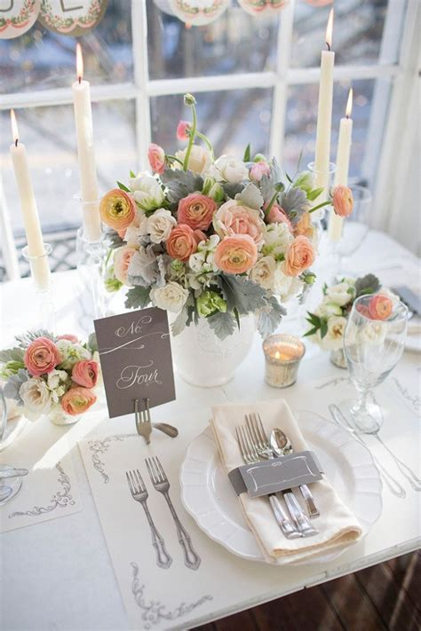 Table Settings For Weddings 20 Impressive Wedding Table Setting Ideas Modwedding