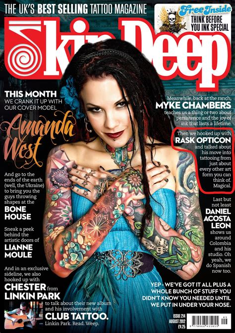 tattoos magazine magazine free pictures