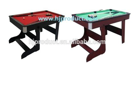 5ft Folding Pool Table 5ft And 6ft Cheaper Folding Pool Table For Sales Buy Fold Up Pool Table Folding Tables Pool