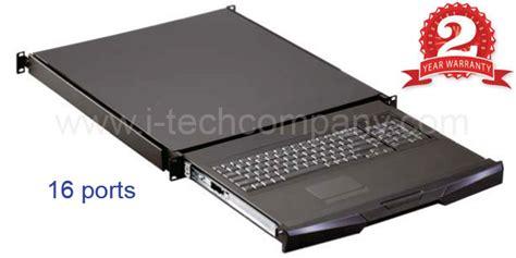 kvm rack drawer 1u rack mount kvm keyboard drawer trays 16 ports kvm w