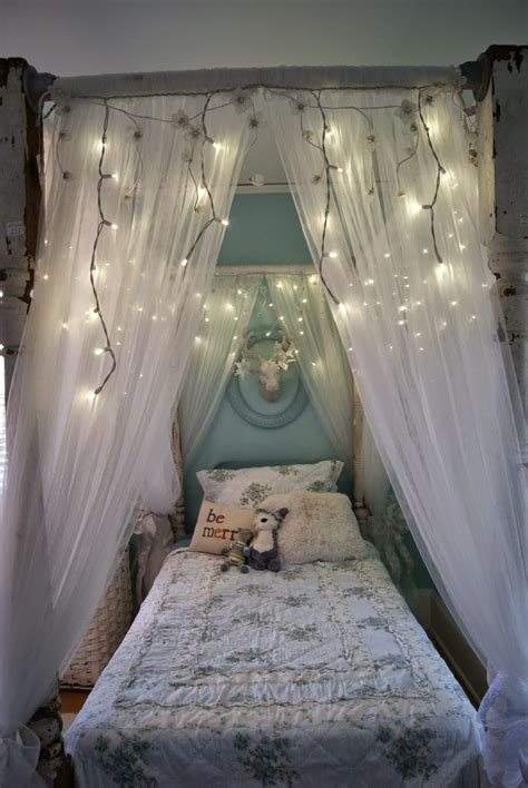 curtains over bed ideas for diy canopy bed frame and curtains curtains design