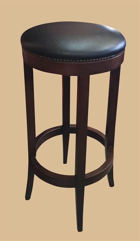 leather top bar stools uhuru furniture collectibles leather top bar stool