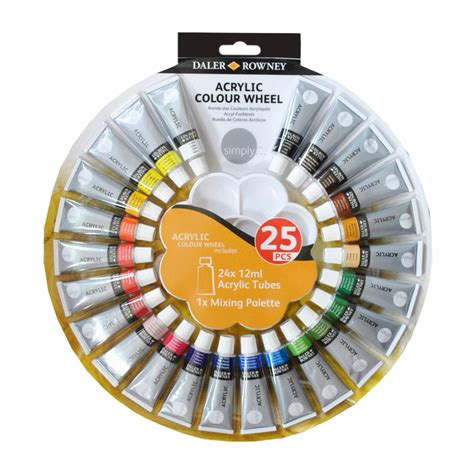 simply acrylic colour wheel daler rowney from craftyarts co uk uk