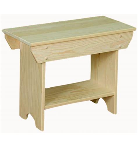 24 inch bench 24 inch bench with shelf burr s unfinished furniture