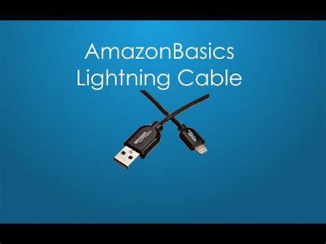 Amazonbasics Cable Lightning by Amazonbasics Lightning Cable Unboxing