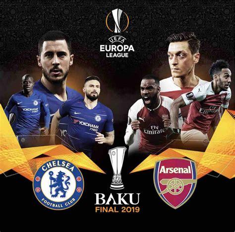 finale europa league  chelsea arsenal tv  altro