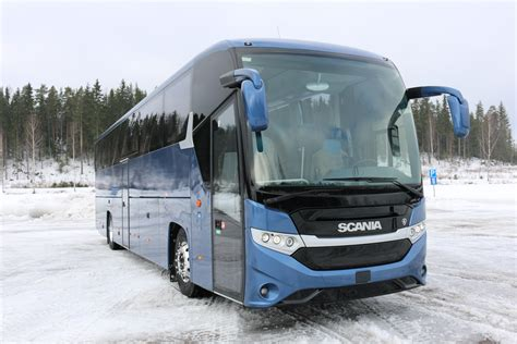 new scania interlink high decker rolled out scania