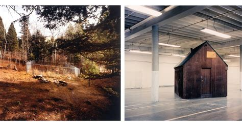 Unabomber Cabin by Richard Barnes Unabomber Cabin 1998 183 Sfmoma