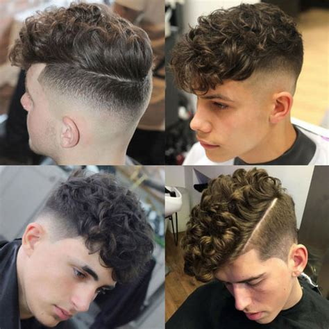 comb over with curly hair men s haircuts for curly hair men s hairstyles