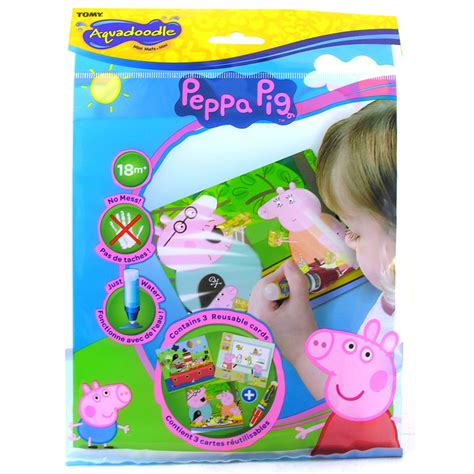 play doodle pepper tomy aquadoodle peppa pig mini mats baby infant toddler