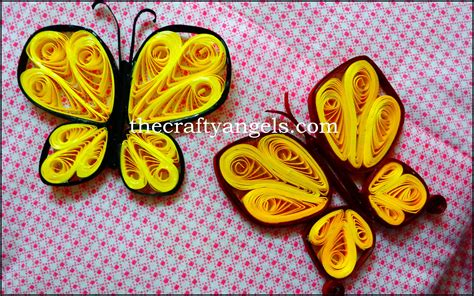 Tutorial Quilling Butterfly | quilling butterfly tutorial without any quilling tools