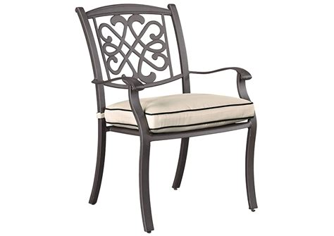 ideal furniture farmingdale burnella beige brown chair w