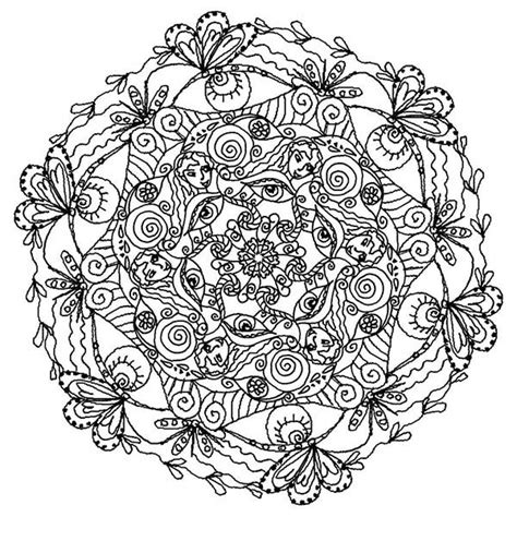 Mandala Trippy Coloring Pages Batch Coloring Stunning Coloring Images