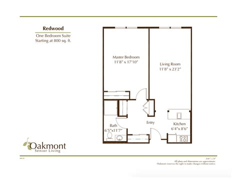 retirement floor plans retirement community whittier redwood floor plan