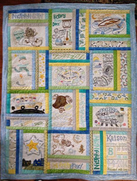 Nursery Rhyme Quilt by Goodesign Nursery Rhyme Quilt