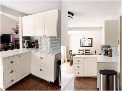 ikea off white kitchen cabinets ikea kitchen renovation off white bodbyn cabinets west