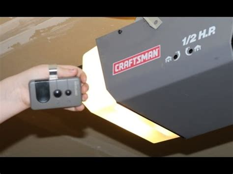 How To Program A Craftsman Garage Door Remote Craftsman 1 2 Hp Garage Door Opener Remote Not Working Tags The Fantastic Craftsman 1 2 Hp