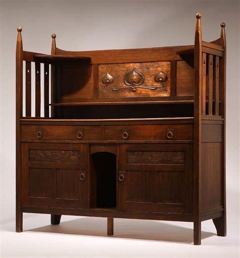 u k a scottish arts crafts oak sideboard possibly