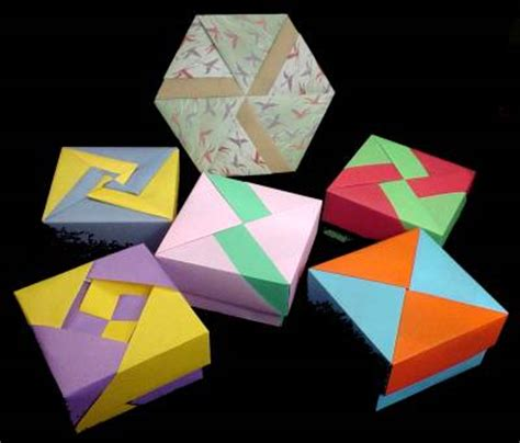 Fabulous Origami Boxes - fabulous origami boxes by fuse tomoko tinas picture to pin