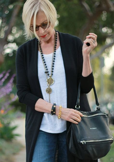 french fashion at 50 eileen fisher long cardigan