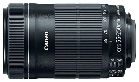 Lensa Canon Zoom Lens Ef S 55 250mm spesifikasi harga lensa canon ef s 55 250mm f 4 5 6 is stm