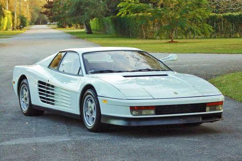 Miami Vice Auto by Quot Miami Vice Quot Testarossa Auktion Bei Barrett