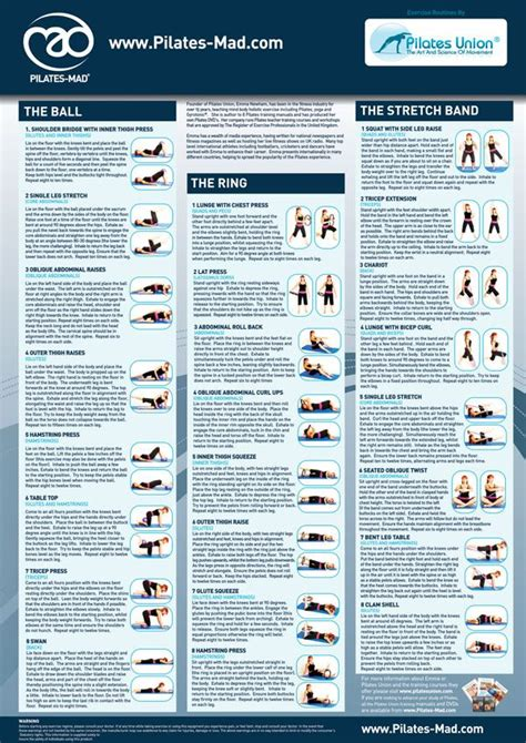Pilates Mat Routine by Best 25 Pilates Ring Ideas On Exercise Rings