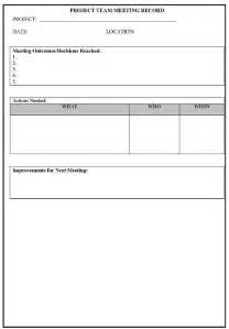 Toolbox Meeting Minutes Template by Safety Meeting Minutes Template Contegri
