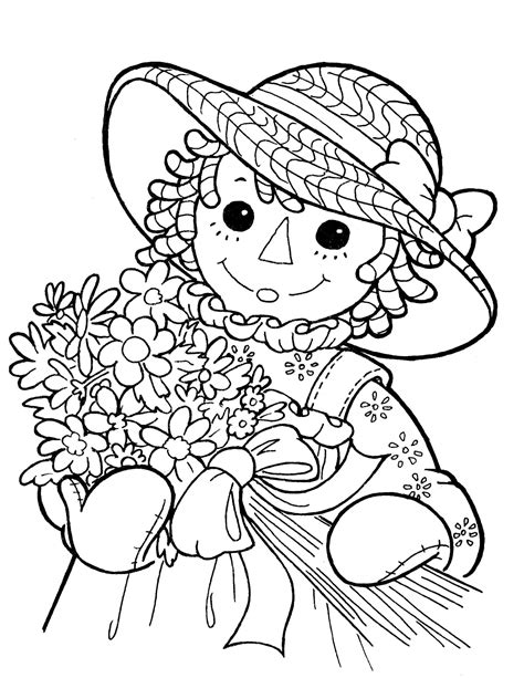 coloring book pages raggedy raggedy 18 coloringcolor