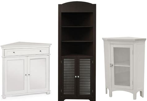 Corner Cabinet Bathroom Storage Simple Black Bathroom Cabinets And Storage Units Placement Lentine Marine 46553
