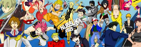 Anime Giveaway - anime characters wall colored nubbuka giveaway by nubbuka on deviantart