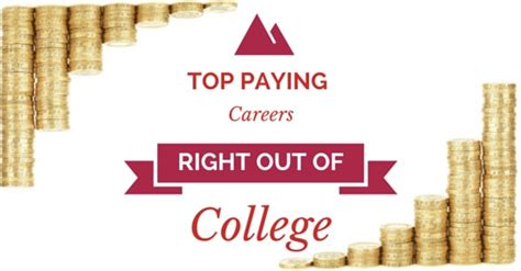 Mba Right Out Of College by Top 13 Highest Paying Careers Right Out Of College Wisestep