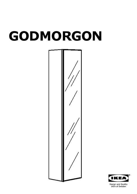godmorgon mobile alto godmorgon mobile alto con anta a specchio lucido bianco