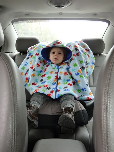 baby boy car seat poncho ponchos hoods and patterns on