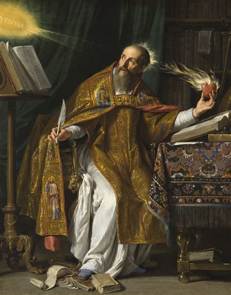 who is st history augustine of hippo and his detours on the and